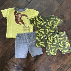 Carter's Monkey Pajamas